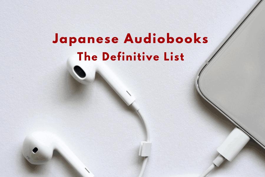 Japanese Audiobooks List