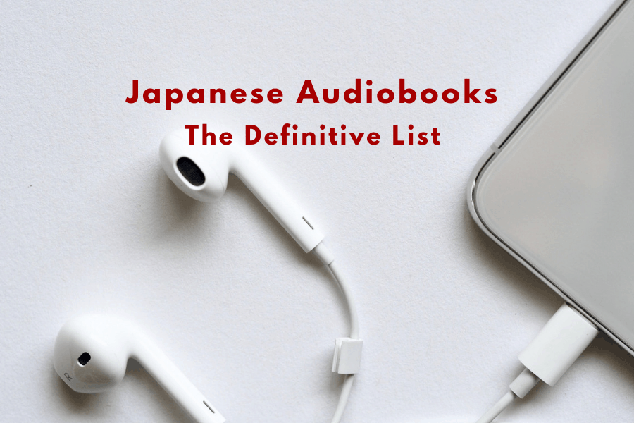 Japanese Audiobooks List