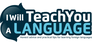 I will teach you a language logo