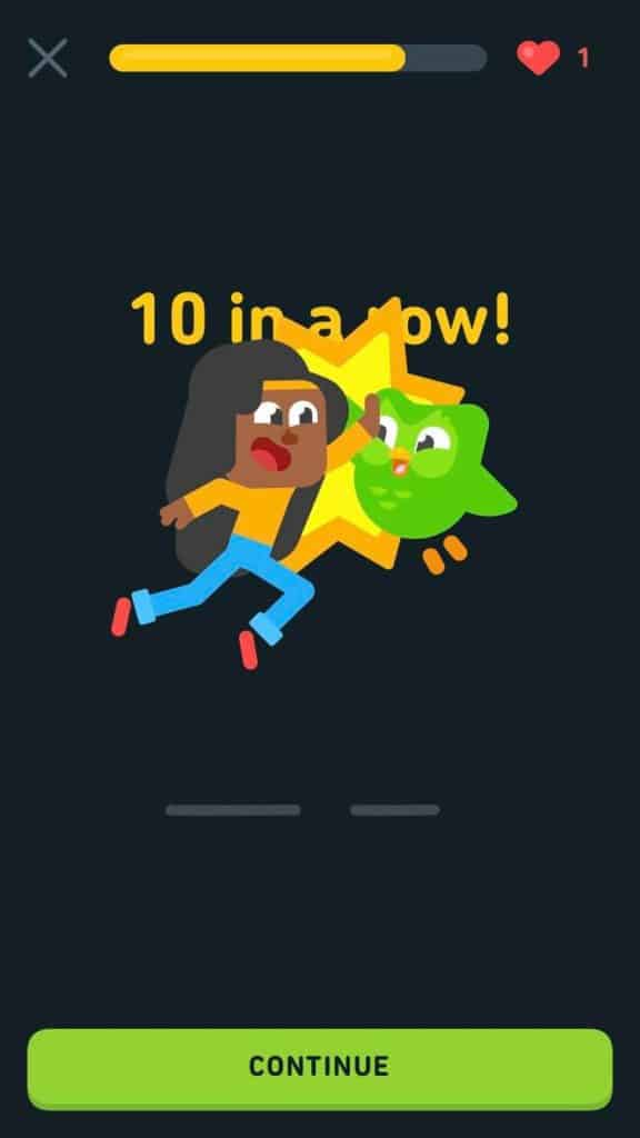 Duolingo-Japanes-Review-10-In-A-Row