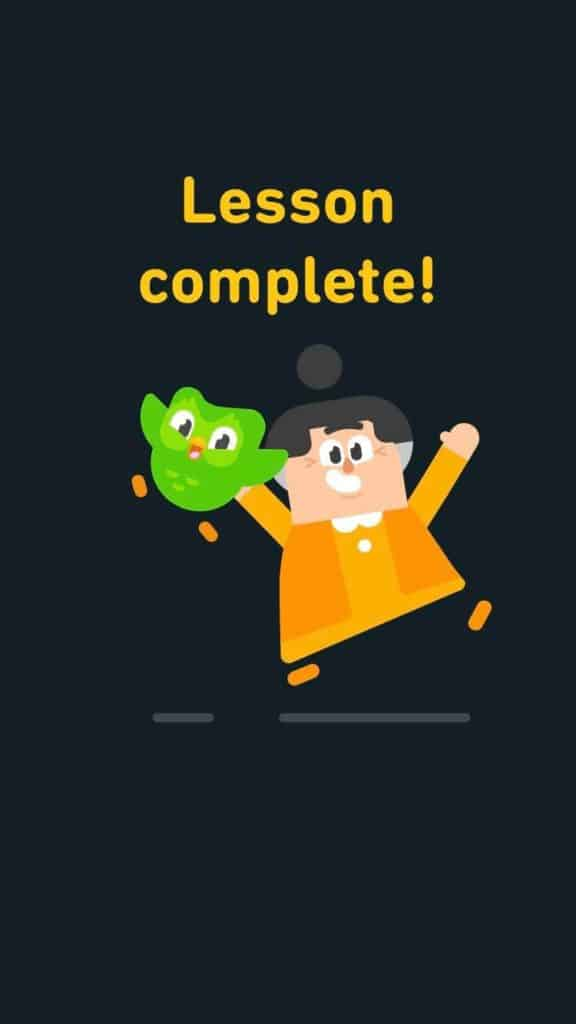 Duolingo-Japanes-Review-Lesson-Complete