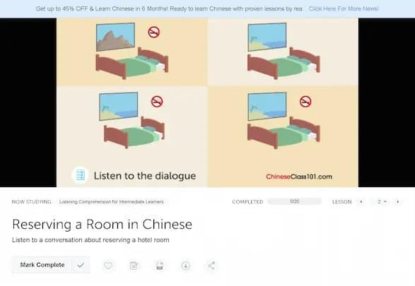ChineseClass101-Review-video-lesson-listening