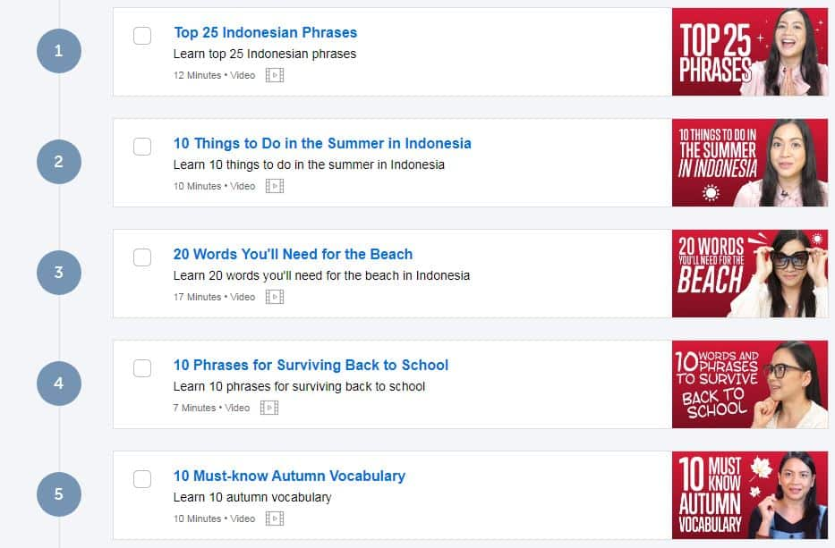 IndonesianPod101-Review-Example-Pathway-Video-Lessons