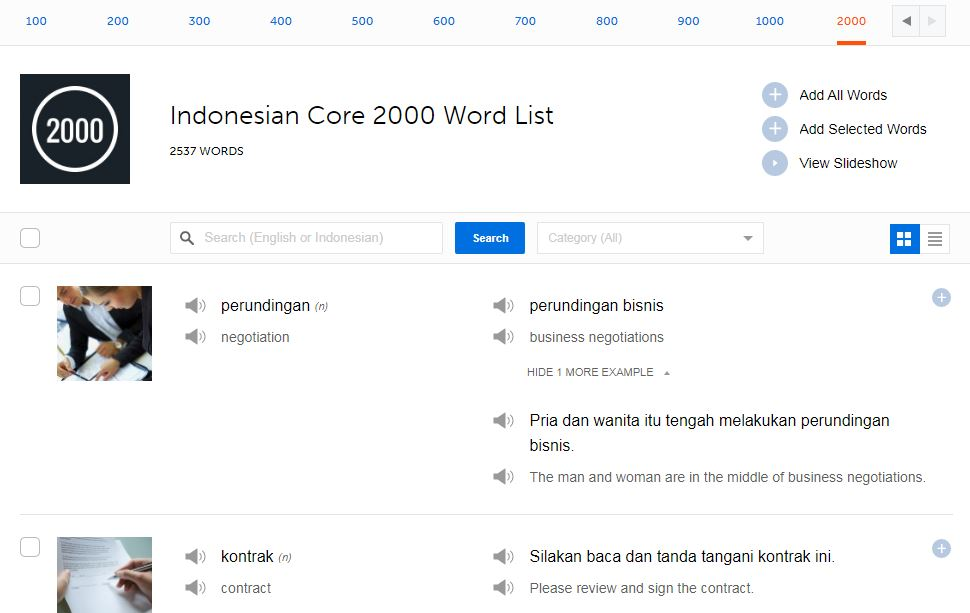 IndonesianPod101-Review-Most-Common-Words-List