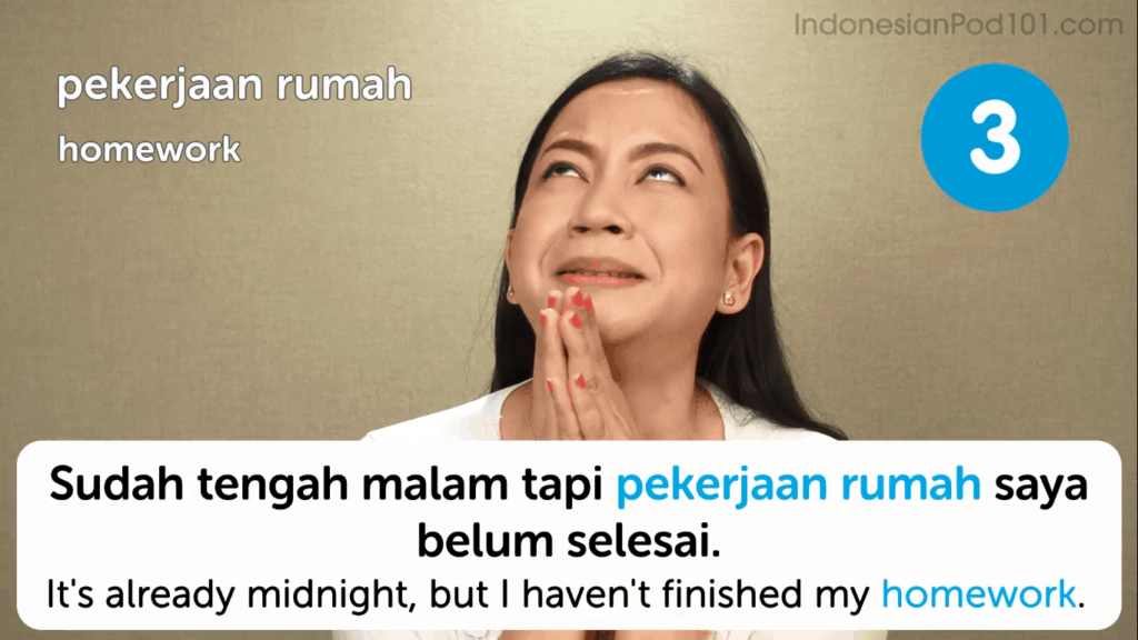 IndonesianPod101-Review-Video-Lesson-Homework