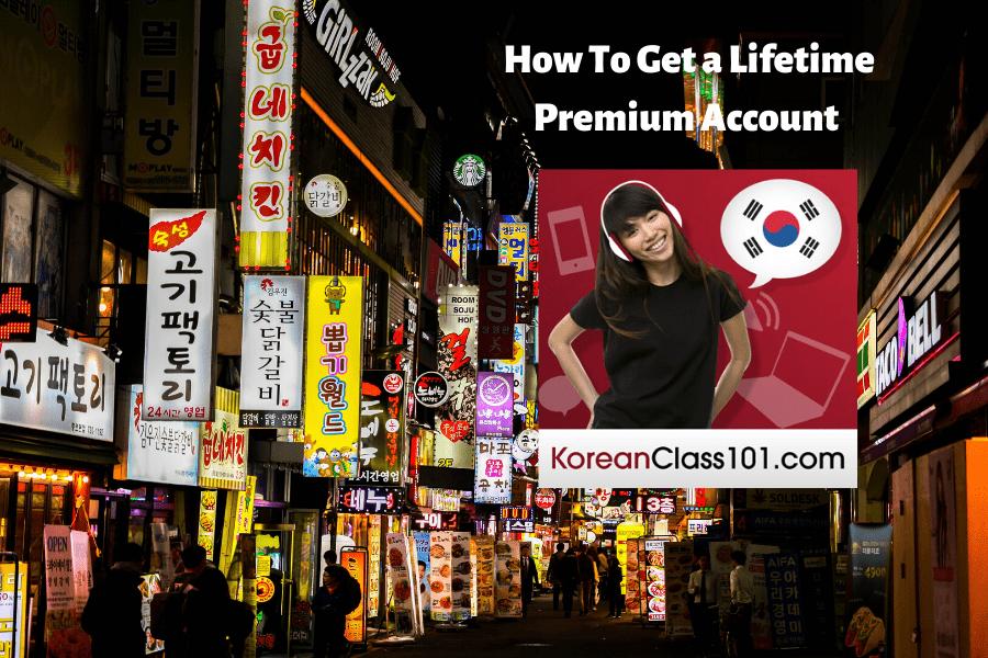 KoreanClass101 Lifetime Premium Account