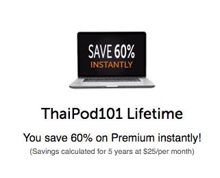 ThaiPod 60% Off
