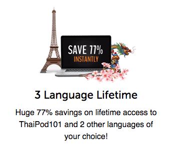 ThaiPod 77% Discount Screenshot