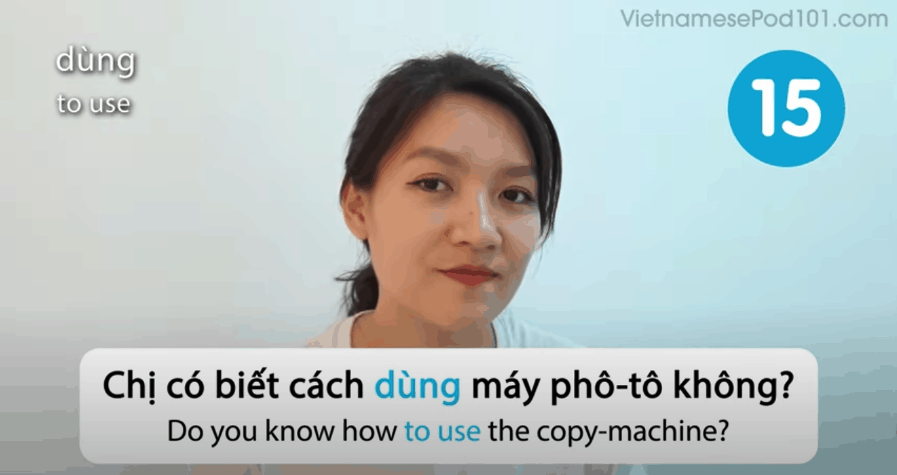 VietnamesePod101 Sample Video Lesson