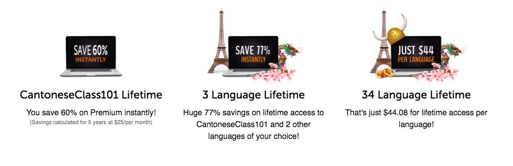 CantoneseClass101 Discount screenshot