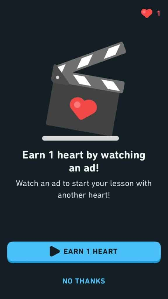 Duolingo-Chinese-Review-Ads-for-Hearts
