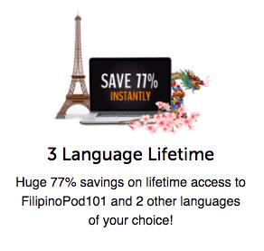 FilipinoPod101 Coupon 77
